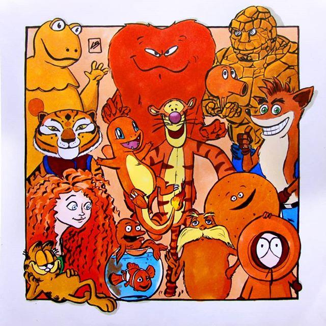 Linda Bouderbala - Orange