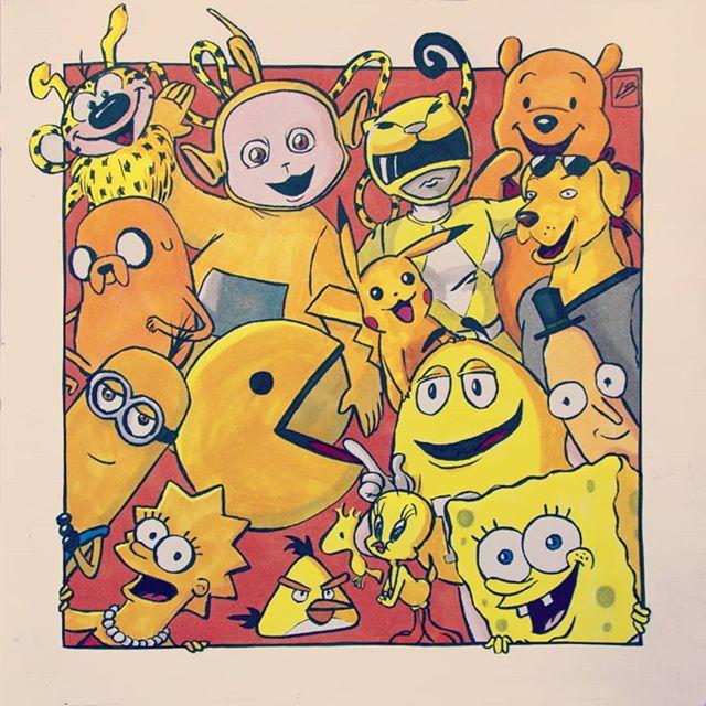 Linda Bouderbala - Yellow